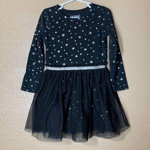 Cat & Jack toddler girl long sleeve tutu dress